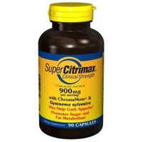 Good 'N Natural - SuperCitrimax Clinical Strength (-) Hydroxycitric Acid (HCA) with Garcinia Cambogia 900 mg. - 90 Capsules