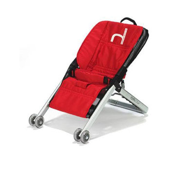 BabyHome Onfour Baby Sitter Activity Seat on Wheels - Red