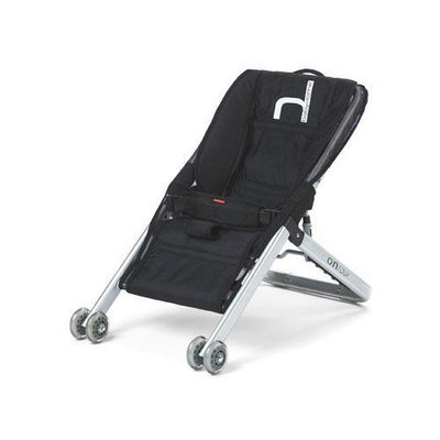 BabyHome Onfour Baby Sitter Activity Seat on Wheels - Black