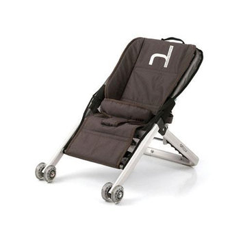 BabyHome Onfour Baby Sitter Activity Seat on Wheels - Brown