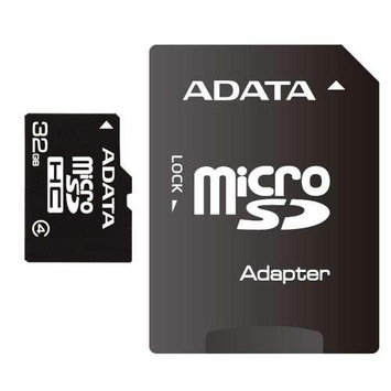 ADATA 32GB microSDHC Flash Card with SD Adapter