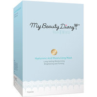 My Beauty Diary Hyaluronic Acid Moisturizing Facial Mask, 10 count
