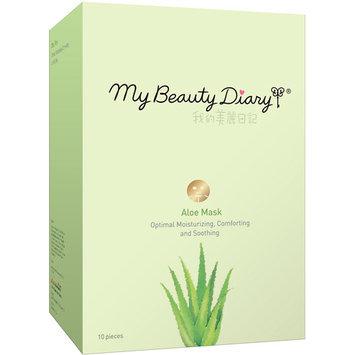 My Beauty Diary Aloe Facial Mask, 10 count