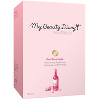 My Beauty Diary Red Wine Facial Mask, 10 count