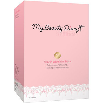 My Beauty Diary Arbutin Whitening Facial Mask, 10 count
