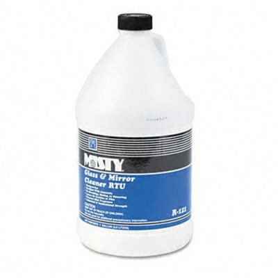Amrep Misty AMR R121-4 Glass And Mirror Cleaner With Ammonia, Gallon Bottle