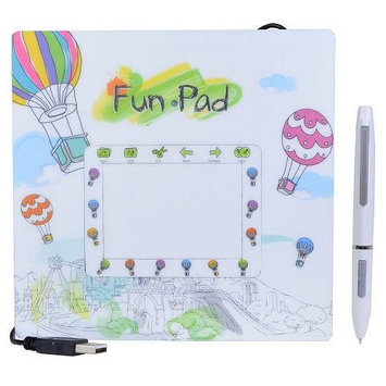 Lapazz FunPad FP430 USB Graphics Tablet with Cordless Pen