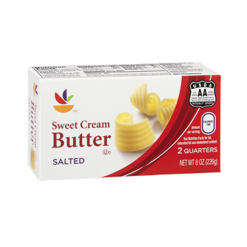 Ahold Butter Sweet Cream Salted - 2 CT