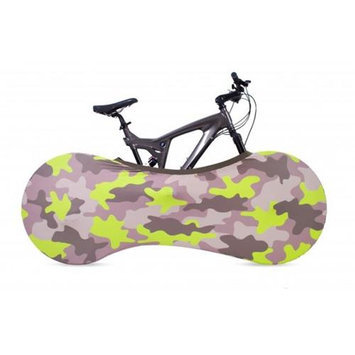 VeloSock Indoor Bicycle Cover Velo Sock, Keeps Your Home Clean, Moss Design