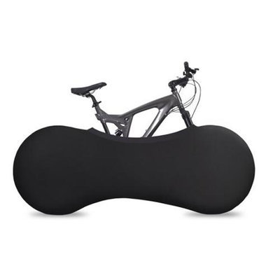 VeloSock Indoor Bicycle Cover Velo Sock, Keeps Your Home Clean, Black Design