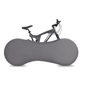 VeloSock Indoor Bicycle Cover Velo Sock, Keeps Your Home Clean, Gray Design