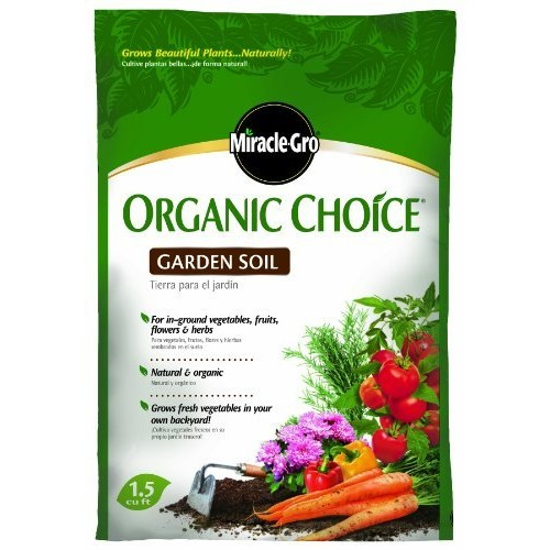 Scotts Miracle-Gro Organic Choice Garden Soil, 1-Cubic Foot (CA Only)