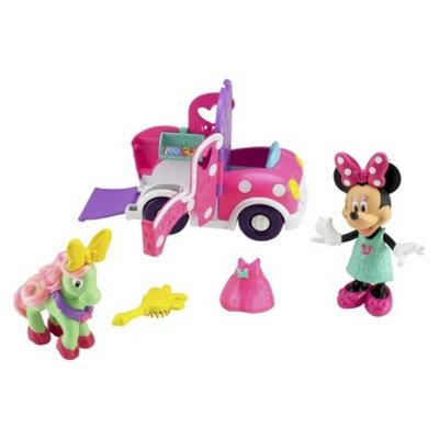 Minnie Mouse Polka Dot Pony Cart