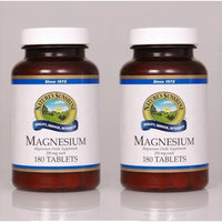 Nature's Sunshine Naturessunshine Magnesium Nervous System Support 250 mg 180 Tablets (Pack of 2)