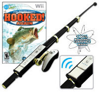 Interworks Unlimited, Inc. Hooked Again with Fishing Rod Bundle