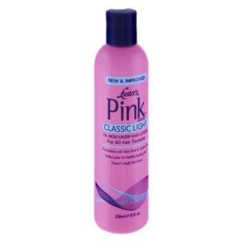 Luster's Pink Classic Light for All Hair Textures Oil Moisturizer Hair Lotion