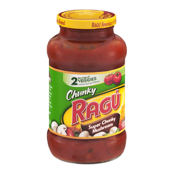 Ragu Chunky Super Chunky Mushroom Pasta Sauce