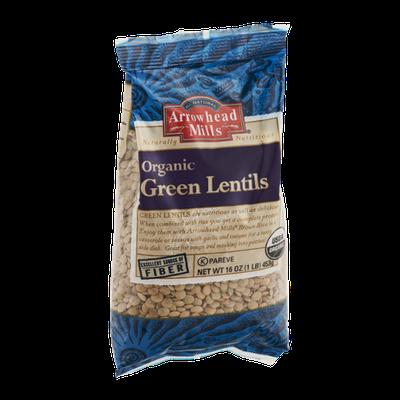 Arrowhead Mills All Natural Organic Green Lentils