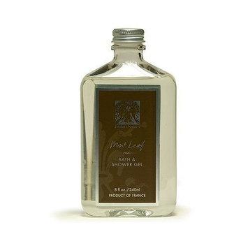 Pre de Provence Bath and Shower Gel, Mint Leaf, 8 ounces Bottle