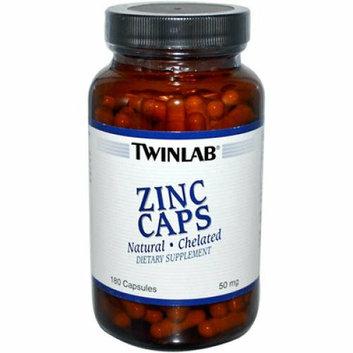 Twinlab Zinc Caps 50 mg 180 Capsules