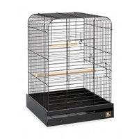 Prevue 125 Parrot Cage Black