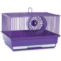 Prevue Hendryx PP-SP2000PR Single Story Hamster Cage - Purple