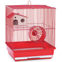 Prevue Pet Products Two Story Red Hamster/Gerbil Cage SP2010R