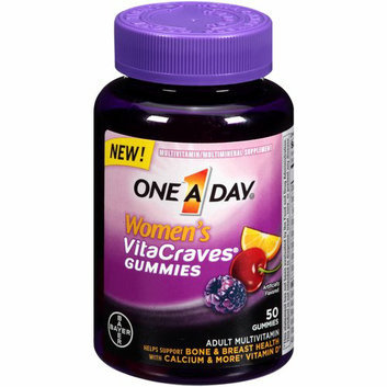 One a Day Women's VitaCraves Gummies Multivitamin/Multimineral Supplement