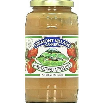 Vermont Village Applesauce Unsweetened 24 oz. (Case of 6)