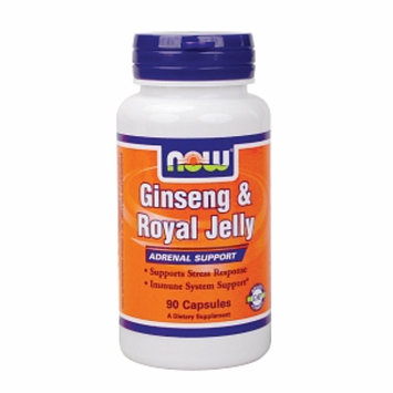 NOW Foods Ginseng & Royal Jelly