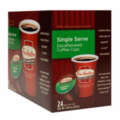 Tim Hortons Single Serve Coffee Cups, Decaffeinated, 24 ea