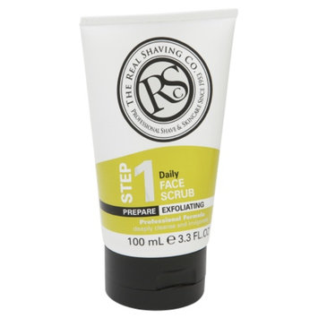 The Real Shaving Company Daily Face Scrub, Step 1, 3.3 oz