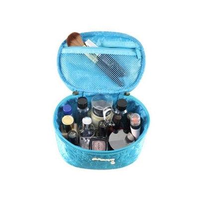 Jacki Design ABC14022BU Royal Blossom Beauty Bag Blue