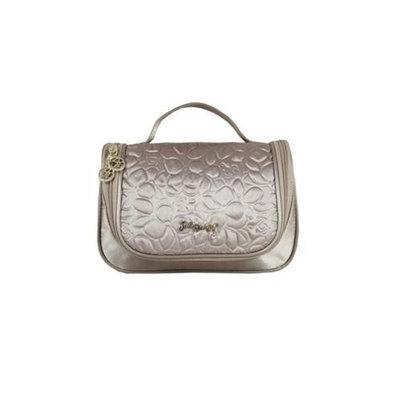 Jacki Design ABD14026CH Royal Blossom Travel Bag With Hanger Champagne