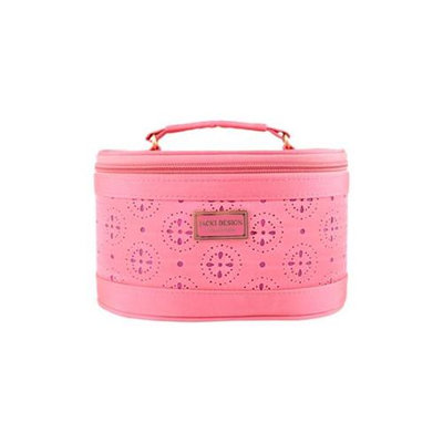 Jacki Design ABD38015CO Cosmopolitan Beauty Train Case Coral