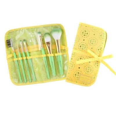 Jacki Design Cosmopolitan 7Pc Makeup Brush And Bag Set