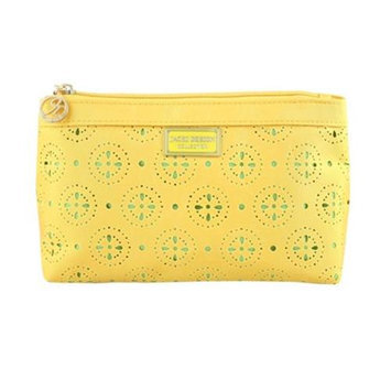 Jacki Design ABC38018YL Cosmopolitan Flat Cosmetic Bag Yellow