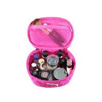 Jacki Design ABC14022HP Royal Blossom Beauty Bag Hot Pink