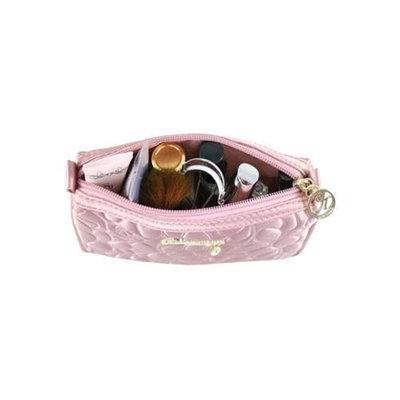 Jacki Design ABC14017PK Royal Blossom Compact Cosmetic Bag Pink