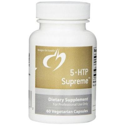 Designs for Health 5 HTP Supreme Vegetarian Capsules, 60 Count