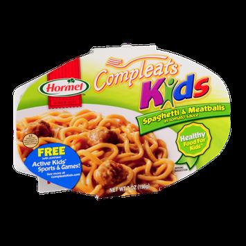 Hormel Compleats Kids Spaghetti & Meatballs