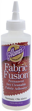 Duncan 328266 Aleenes Fabric Fusion Permanent Adhesive-4 Ounces