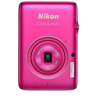 Nikon Coolpix S02 13 Megapixel Digital Camera - Pink