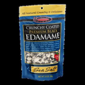 Seapoint Farms Crunchy Coated Premium Black Edamame Sea Salt