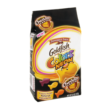 Goldfish® Neon Colors Baked Snack Crackers