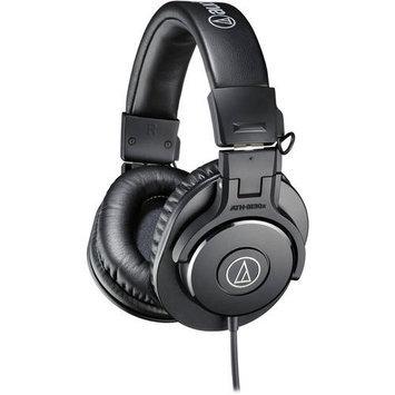 Audio-Technica ATH-M30x Closed-Back Professional Studio Monitor Headphones Black