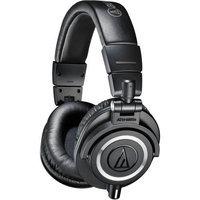 Audio-Technica ATH-M50x Closed-Back Professional Studio Monitor Headphones Black