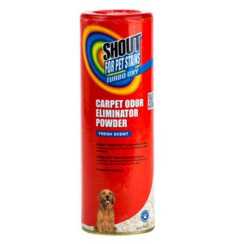Shout Turbo Oxy Fresh Scent Pet Carpet Odor Eliminator Powder