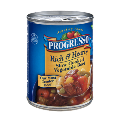 Progresso Rich & Hearty Slow Cooked Vegetable Beef Soup