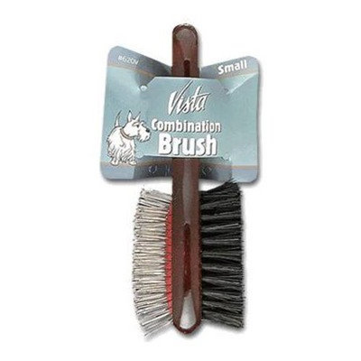 Millers Forge DMI622V Vista Dog Pin Grooming Brush with Ball Tips, Small